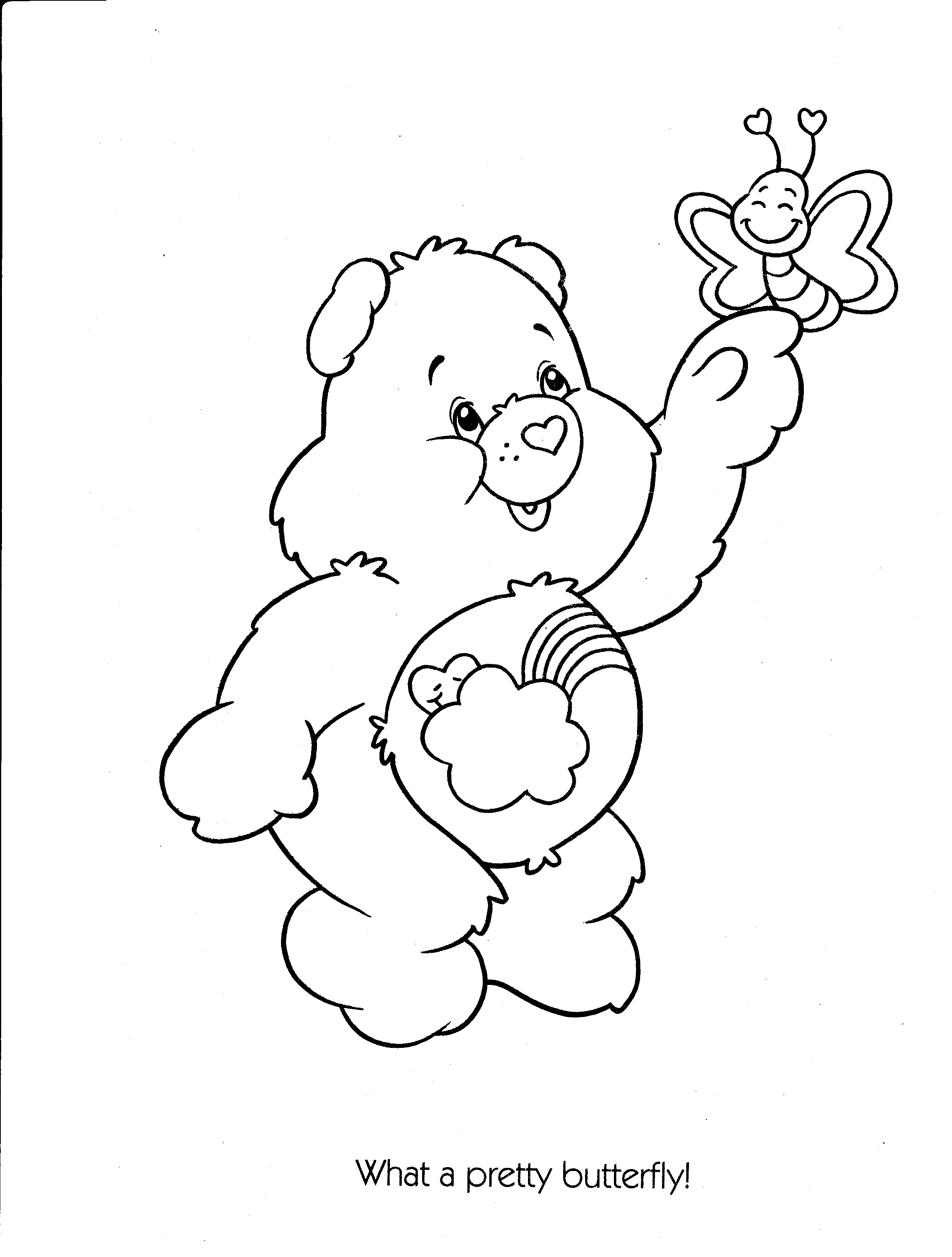 2436x3216 Care Bears Coloring Pages Coloring Pages For Kids