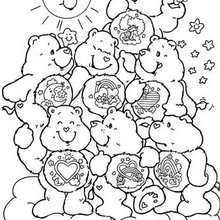 220x220 Care Bears Coloring Pages