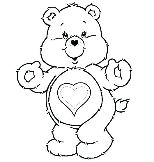 529x554 Pooh Bear Colouring Pages Online Bears Coloring Pages Happy Day