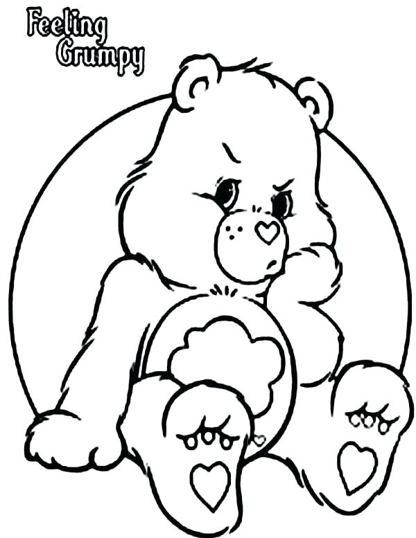 600x777 Teddy Bear Coloring Page Bears Coloring Pages Care Bears Coloring