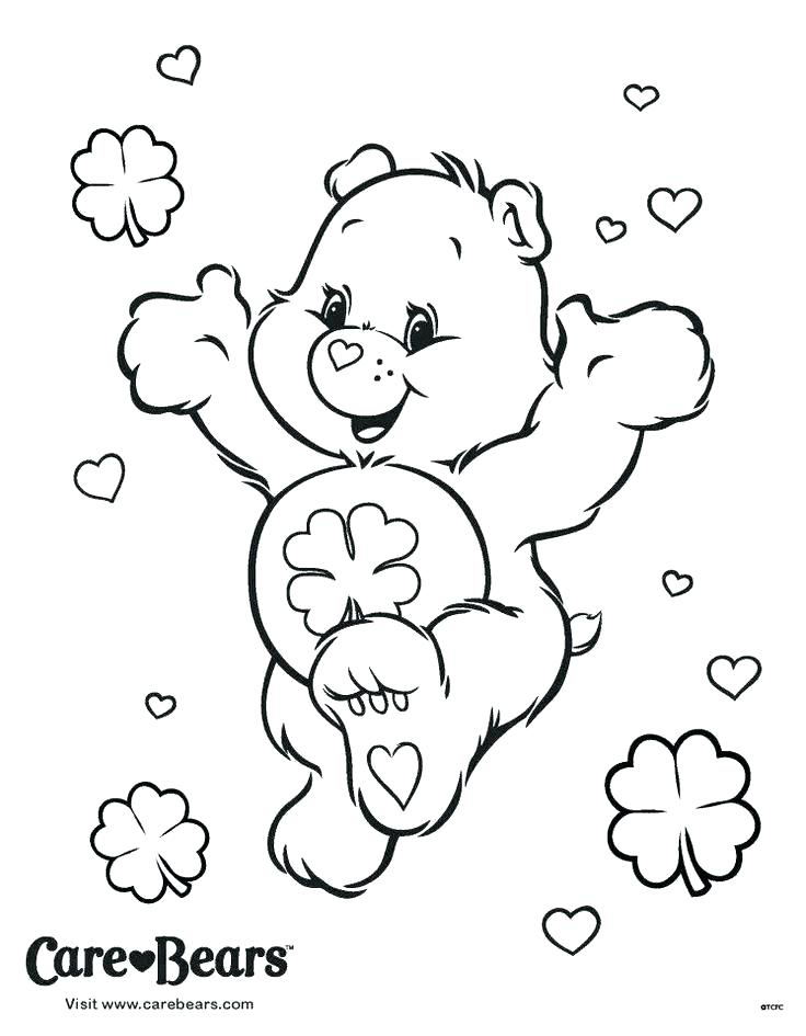 736x945 Care Bear Coloring Pages