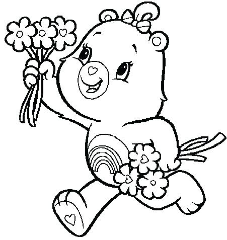 451x477 Care Bear Coloring Book Packed With Care Bear Coloring Book