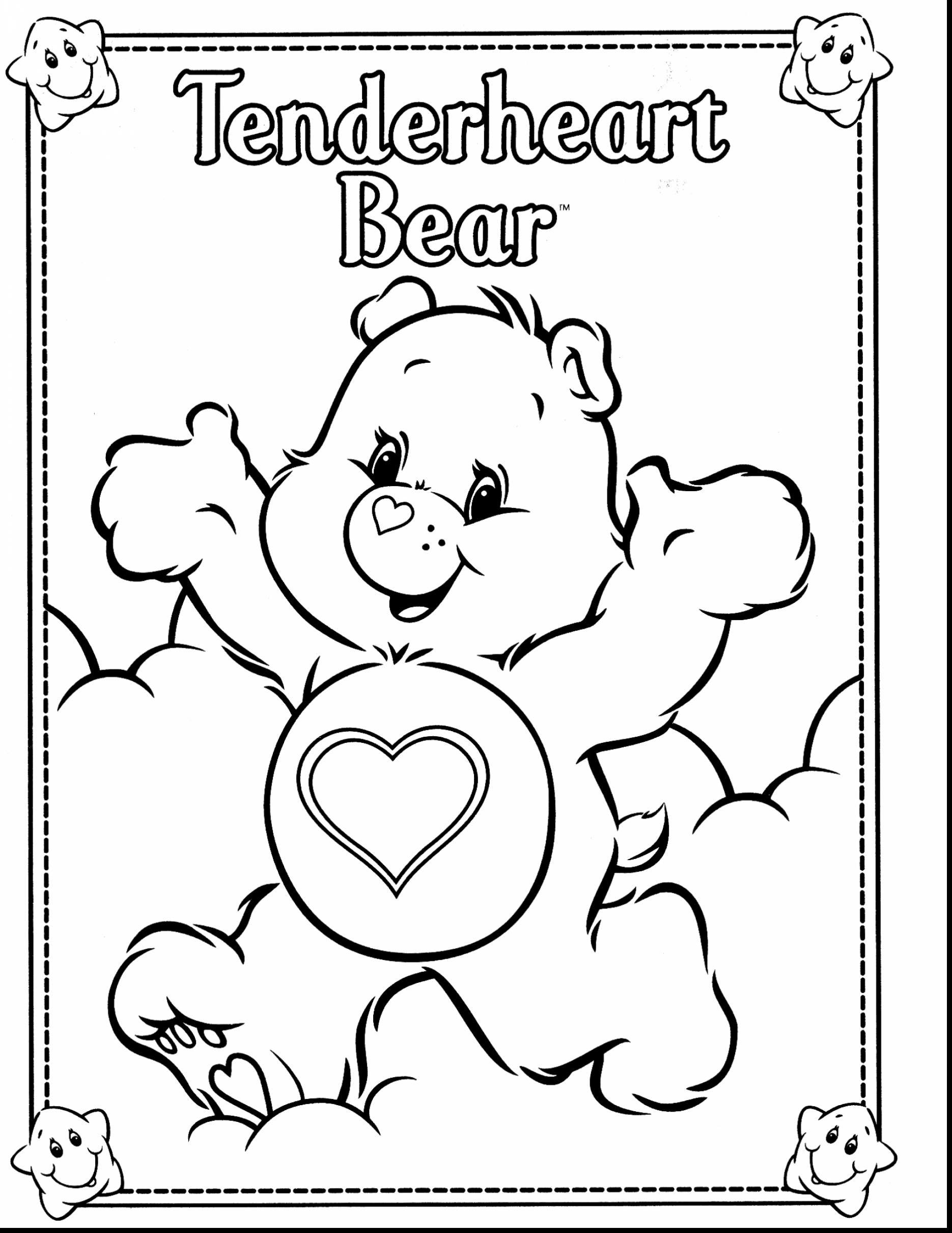 1870x2420 Carebear Coloring Pages Care Bears Adventures In Lot