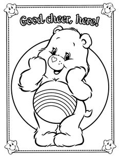 236x305 Care Bears Coloring Page Coloring Pages Care Bears