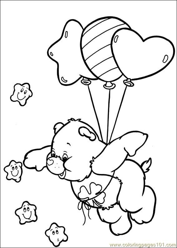 567x794 Care Bears Coloring Pages To Print Care Bear Coloring Pages Free