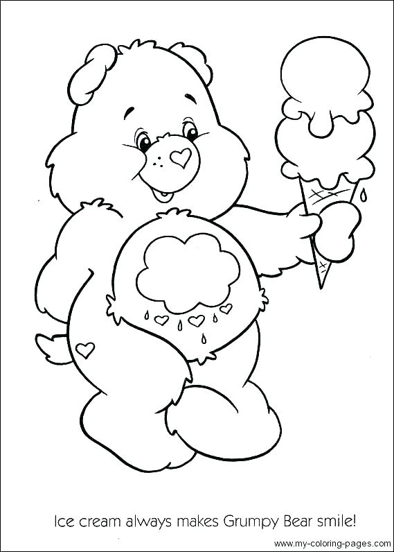 569x796 Care Bear Coloring Book Care Bear Coloring Book Pages How To Draw