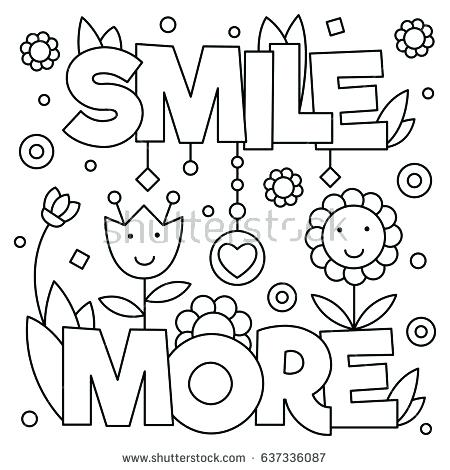 450x470 Career Day Coloring Pages Coloring Page Vector Illustration Career