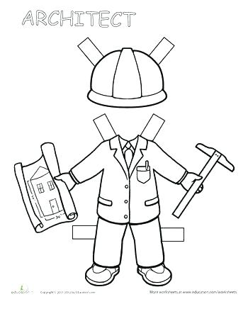 350x453 Career Day Coloring Pages Career Day Coloring Pages Career Day