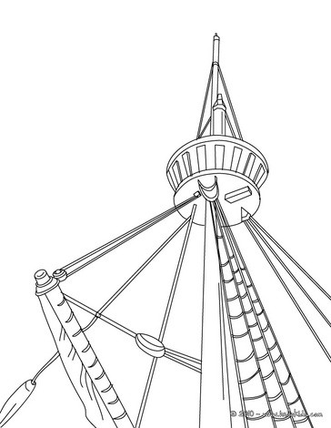 364x470 Cargo Barge Coloring Pages