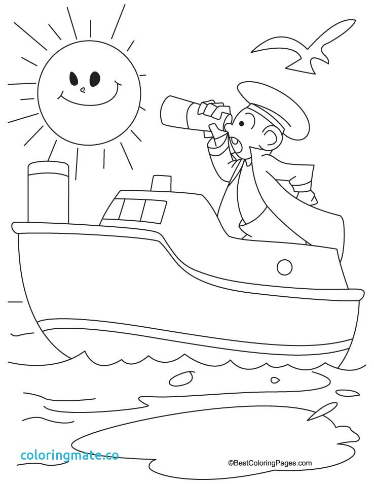 738x954 Ship Coloring Pages