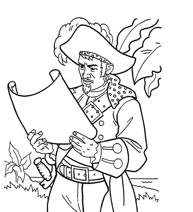 Caribbean Coloring Pages