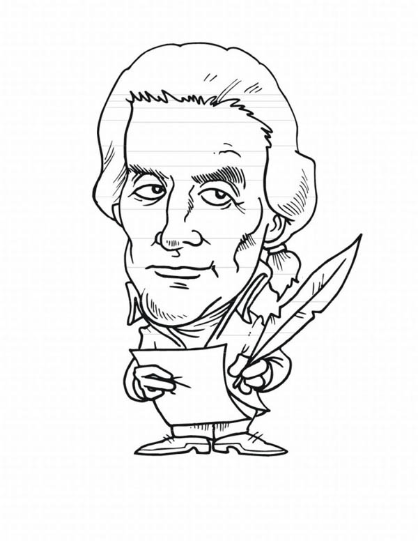 Caricature Coloring Pages