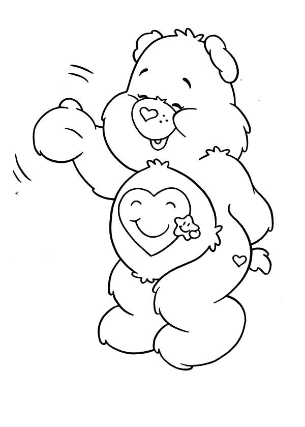 600x839 Care Bears Coloring Pages For Kids Best Place To Color