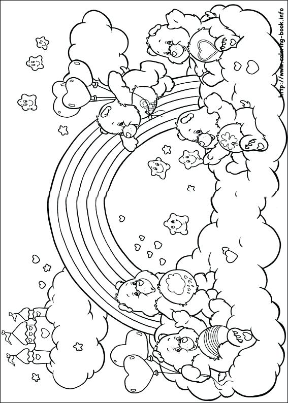 567x794 Bears Coloring Pages The Care Bears Coloring Pages On Coloring