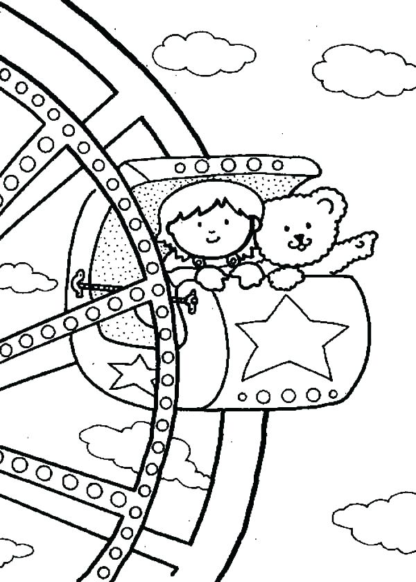 Carnival Coloring Pages At Getdrawings Free Download