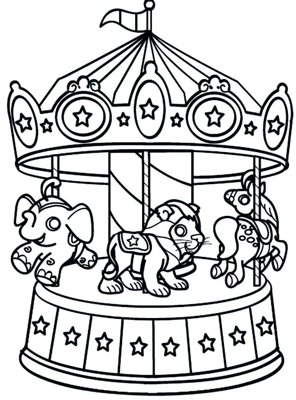 600x810 Carnival Of The Animals Coloring Pages