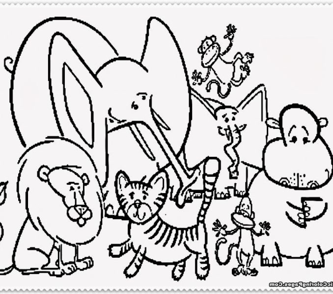 678x600 Carnival Of The Animals Coloring Pages Kids Coloring