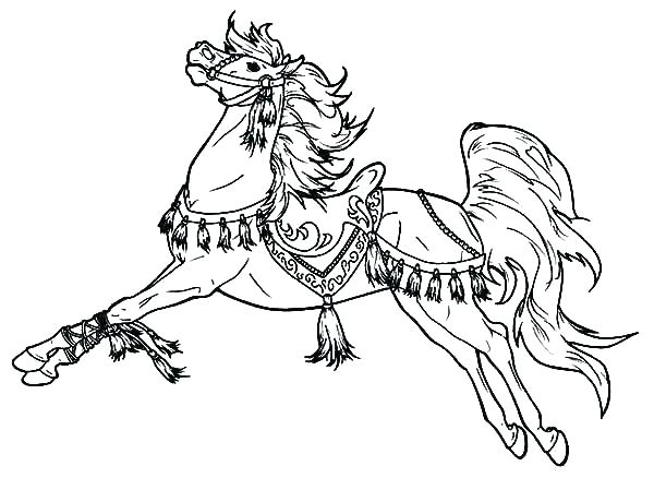600x438 Carnival Of The Animals Coloring Pages Carousel Animals Coloring