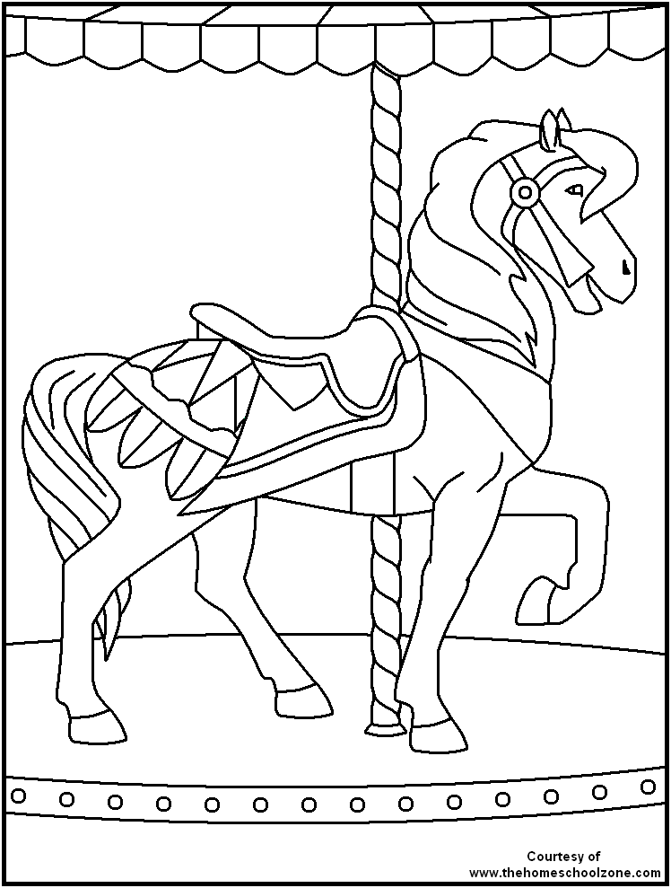 748x989 Circus Coloring Pages