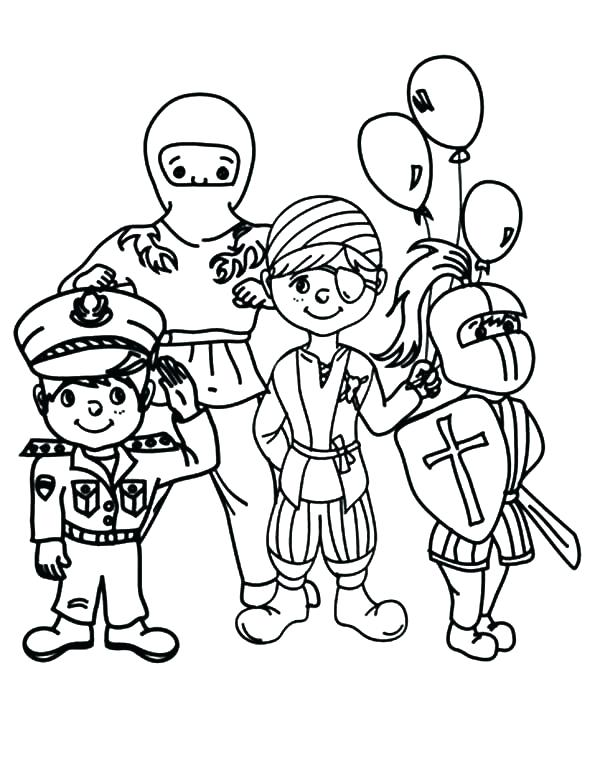 600x775 Carnival Coloring Page Pages With Plan