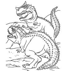Carnotaurus Coloring Page at GetDrawings   Free download