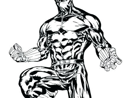 440x330 Panther Coloring Page New Black Panther Coloring Pages Print
