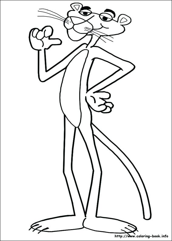567x794 Panther Coloring Pages Panther Coloring Page Panthers Coloring