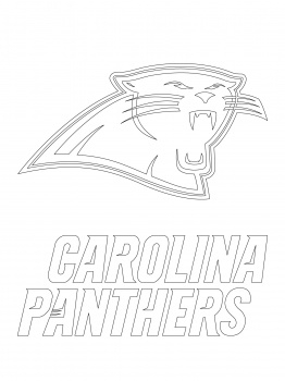 262x350 Carolina Panthers Coloring Pages Printable Nfl Coloring Sheets