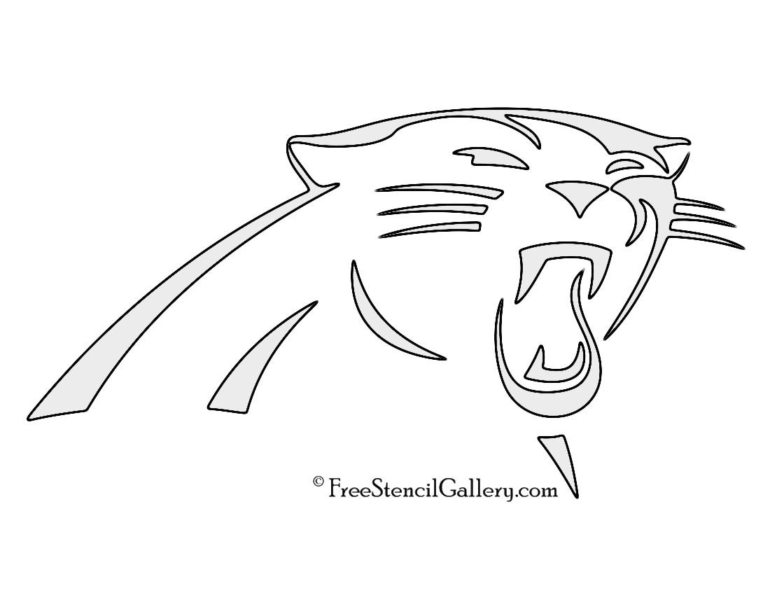 1100x850 Carolina Panthers Logo Coloring Page Pages