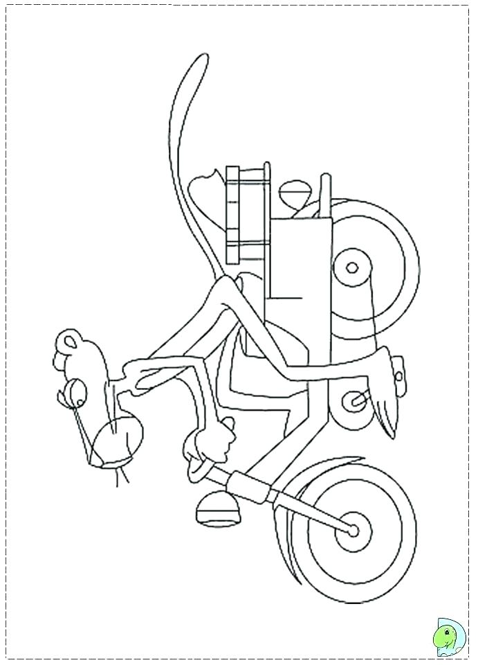 691x960 Panther Coloring Page Panther Coloring Pages With Panthers Logo