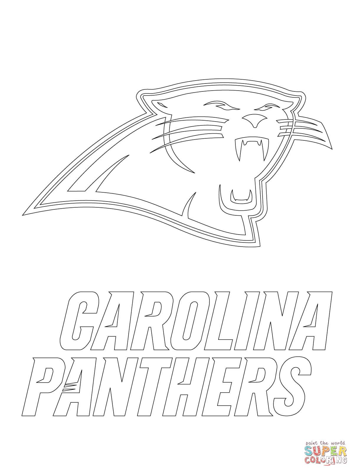 1200x1600 Carolina Panthers Coloring Pages Carolina Panthers Logo Coloring