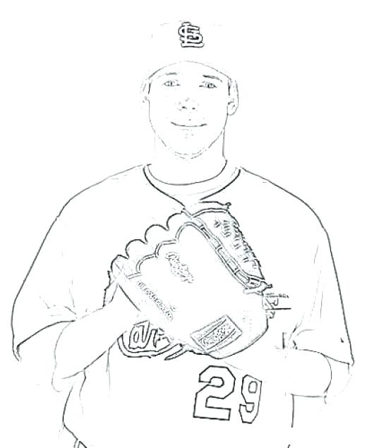 530x635 This Is St Cardinals Coloring Pages Images Carpenter Coloring This