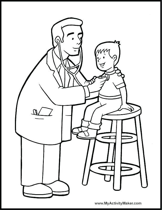 618x798 Tools Coloring Page Medical Coloring Pages Doctor Tools Coloring