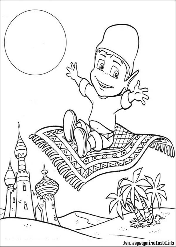 600x840 Adiboo Ride Magic Carpet Coloring Pages Batch Coloring