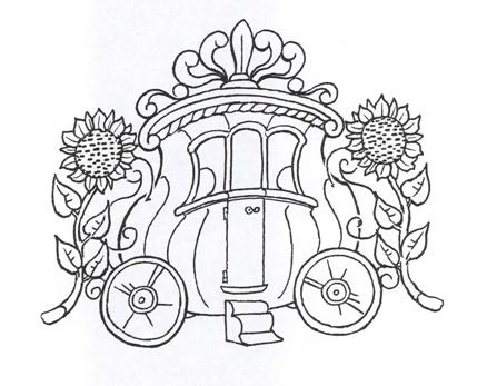 447x347 Drawn Pumpkin Cinderella Pumpkin Pencil And In Color Drawn