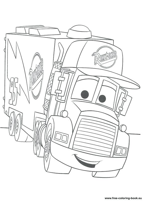 571x800 Disney Pixar Coloring Pages Coloring Pages Cars Page Printable