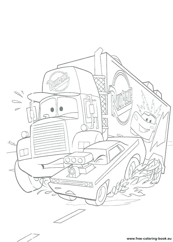 571x800 Pixar Coloring Pages Free Coloring Pages Cars Is About To Cross