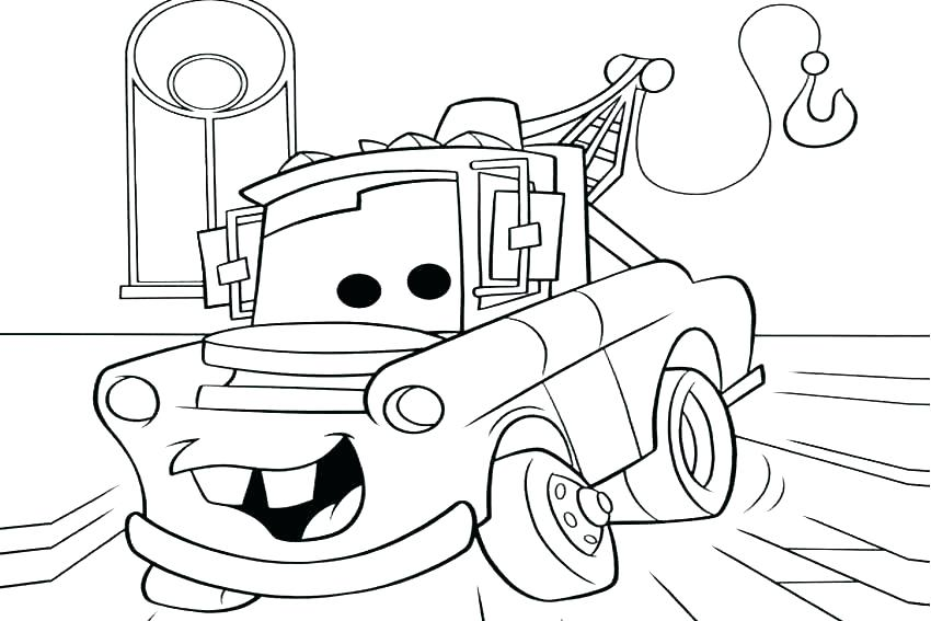 850x567 Cars Coloring Pages Coloring Pages Cars Printable Coloring Pages