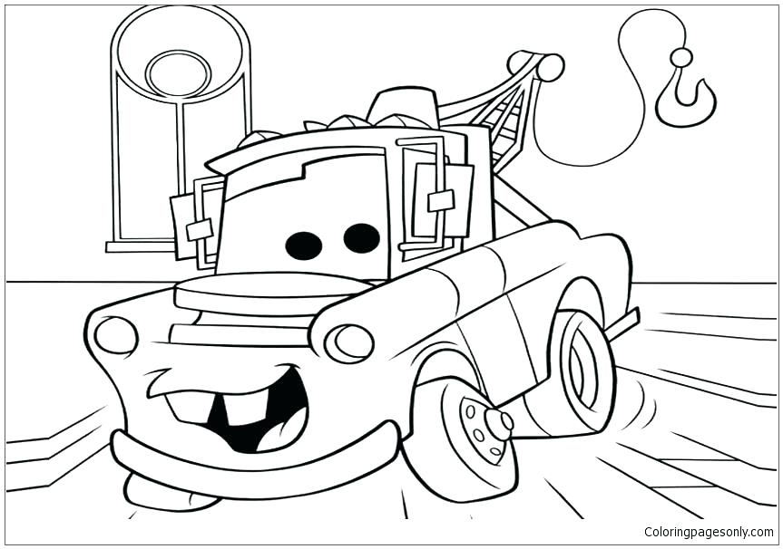863x606 Cars Coloring Sheets To Print Printable Coloring Movie Coloring