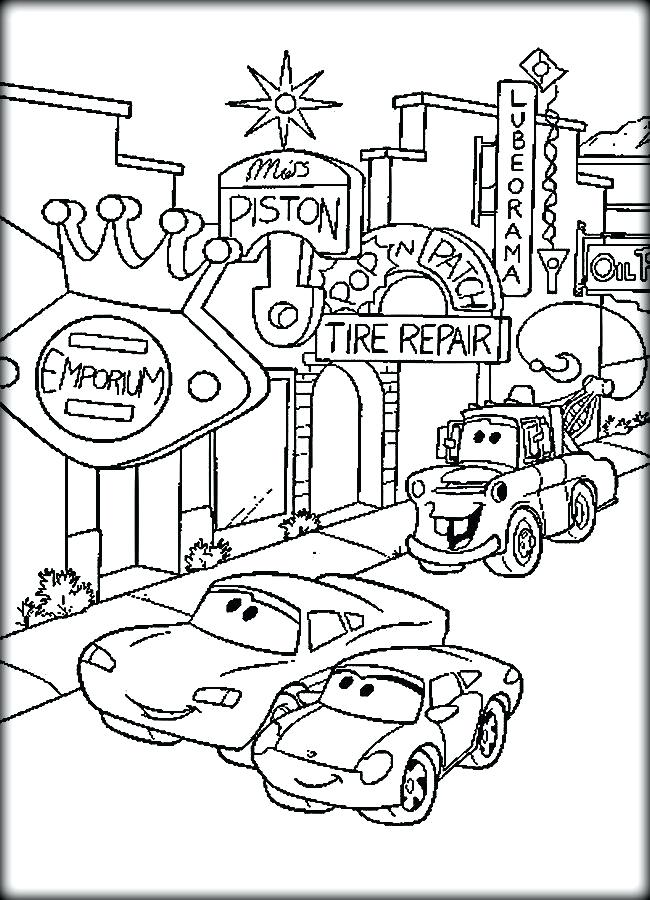 650x900 Cars Coloring Pages To Print Cars Coloring Pages Lightning Color