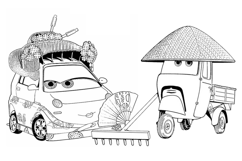 🎨 Cars And Cars2 7 - Kizi Free 2020 Printable Coloring Pages For ... | 567x850