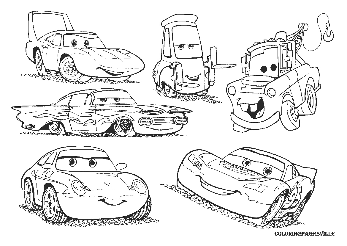 1169x827 Cars Coloring Pages Lovely Mater Cars Colouring Pages Logo