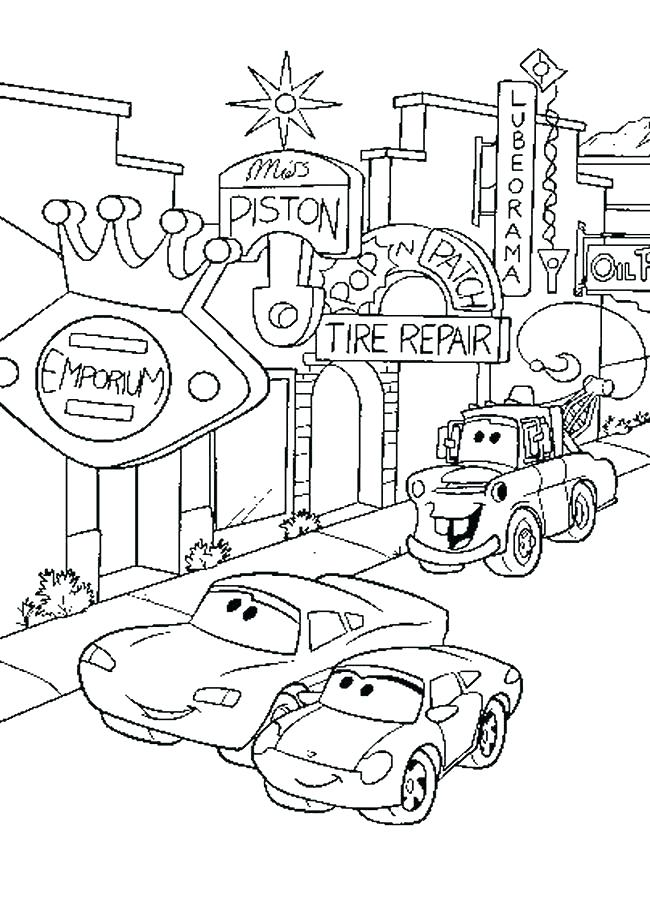 650x900 Cars Printable Coloring Pages Cars Coloring Pages Coloring Book