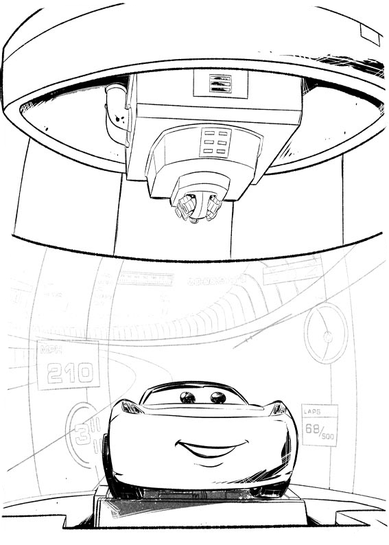 567x794 Cars Coloring Pages To Download And Print For Free