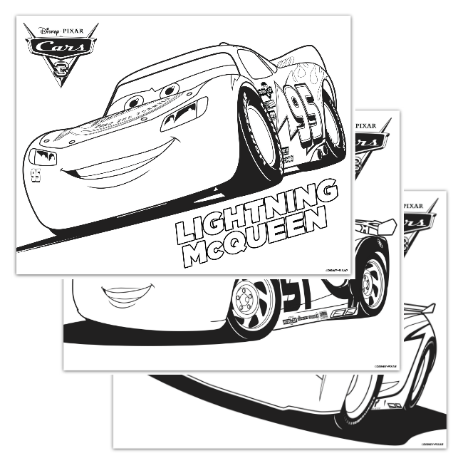 650x650 Cars Coloring Pages