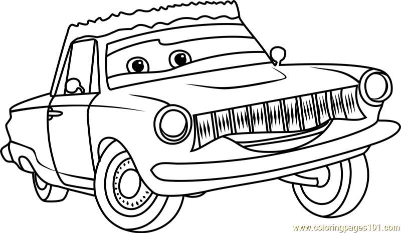 800x466 Rusty Rust Eze From Cars Coloring Page