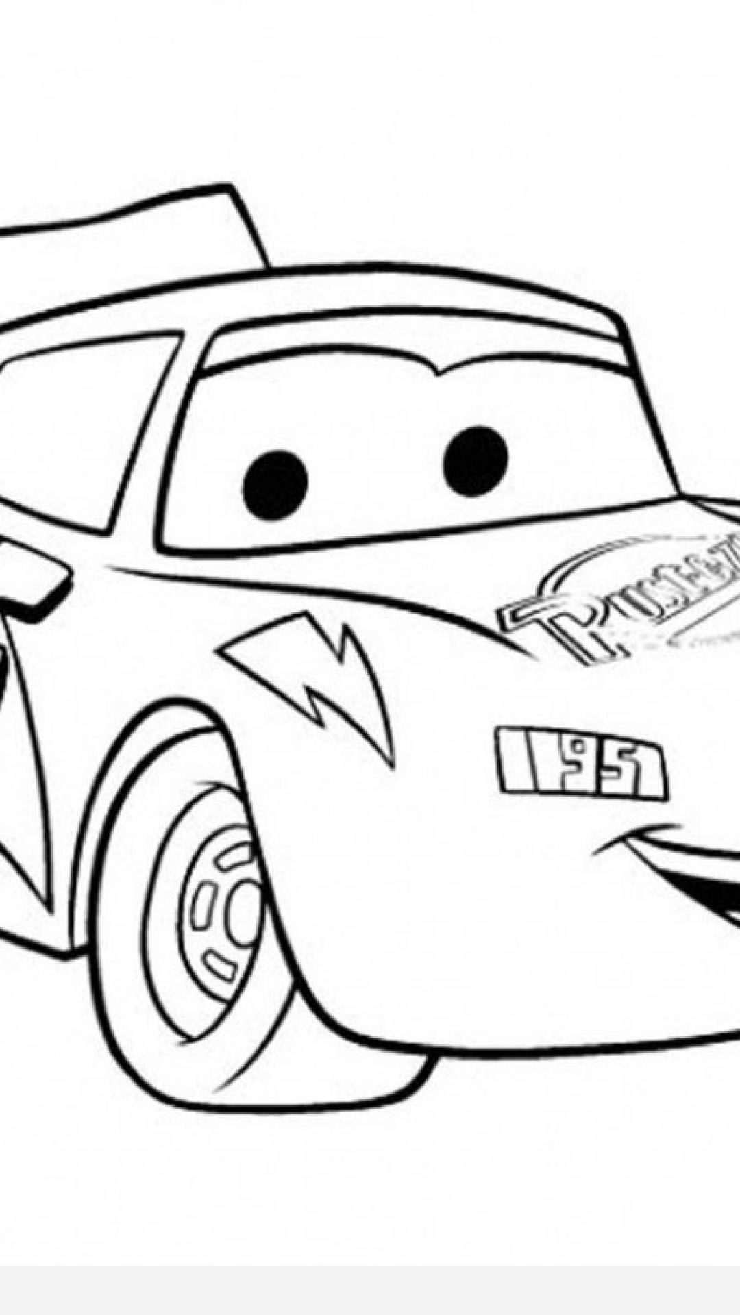1080x1920 Cars Coloring Pages Pdf Timykids