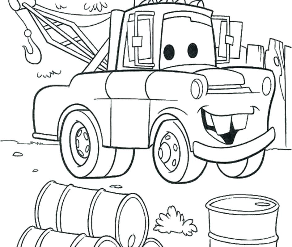 945x800 Inspiring Lightening Mcqueen Coloring Pages