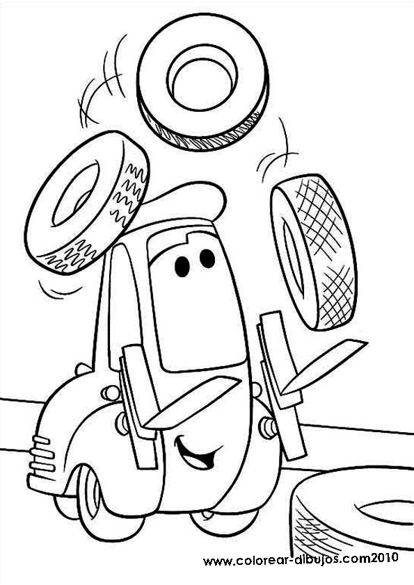 Cars Movie Coloring Pages At Getdrawings Com Free For Personal Use