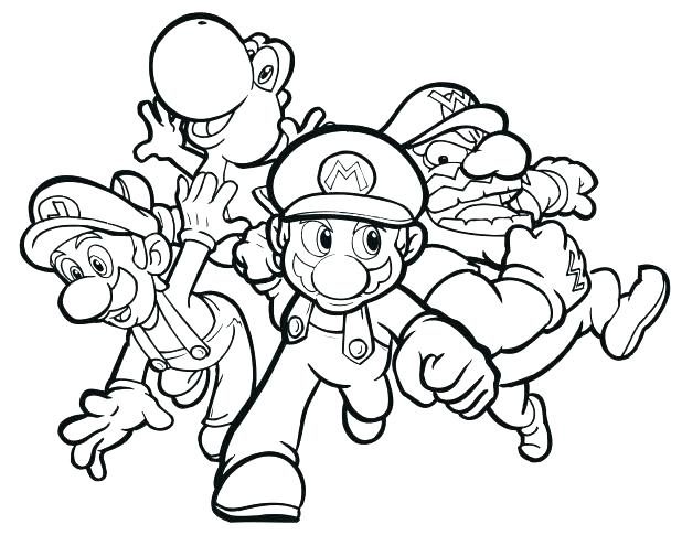 618x485 Mario Cart Coloring Pages Coloring Pages Brave Coloring Pages